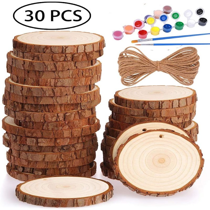 Wood Slices with Hole 50%OFF
