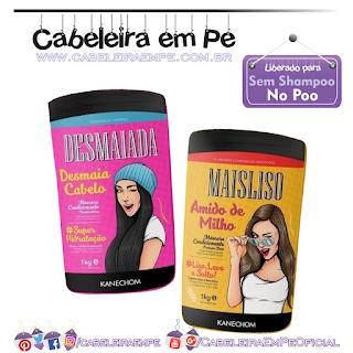Máscaras Maisliso e Desmaiada - Kanechom (No Poo)
