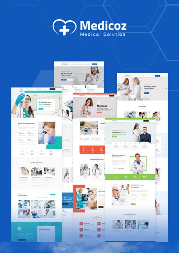 Clinic & Hospital Website Template