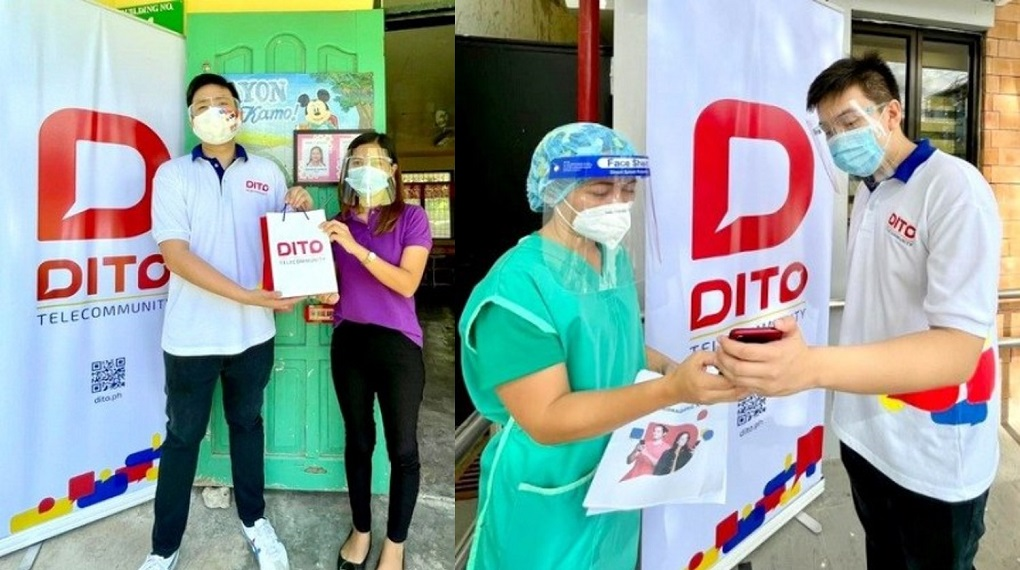 Frontliners First: DITO Telecommunity donates smartphones , services to frontliners in Visayas and Mindanao