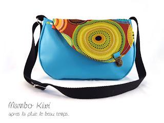 sac original coloré fait main