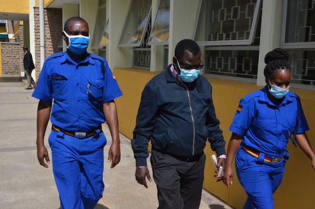 Karen MCA David Mberia sentenced photo
