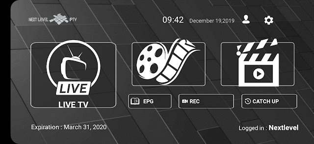 تحميل تطبيق جديد لمشاهدة القنوات المشفرة NextLevelsv iptv