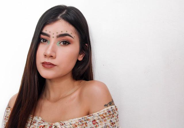 Maquiagem simples para o Carnaval