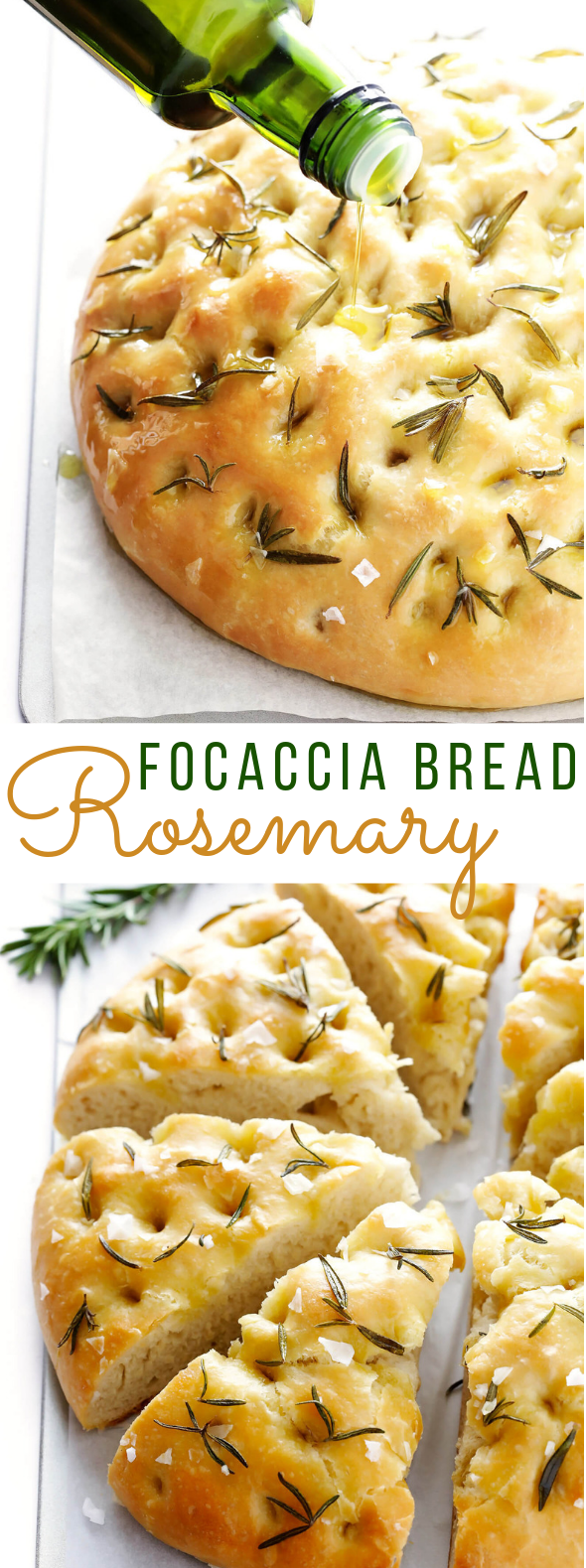 ROSEMARY FOCACCIA BREAD #dinner #food