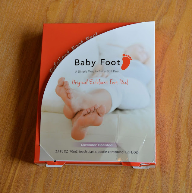 Baby Foot Original Exfoliate Foot Peel Review Polished