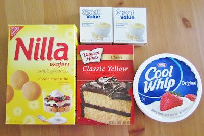 The Country Cook Banana Pudding Poke Cake