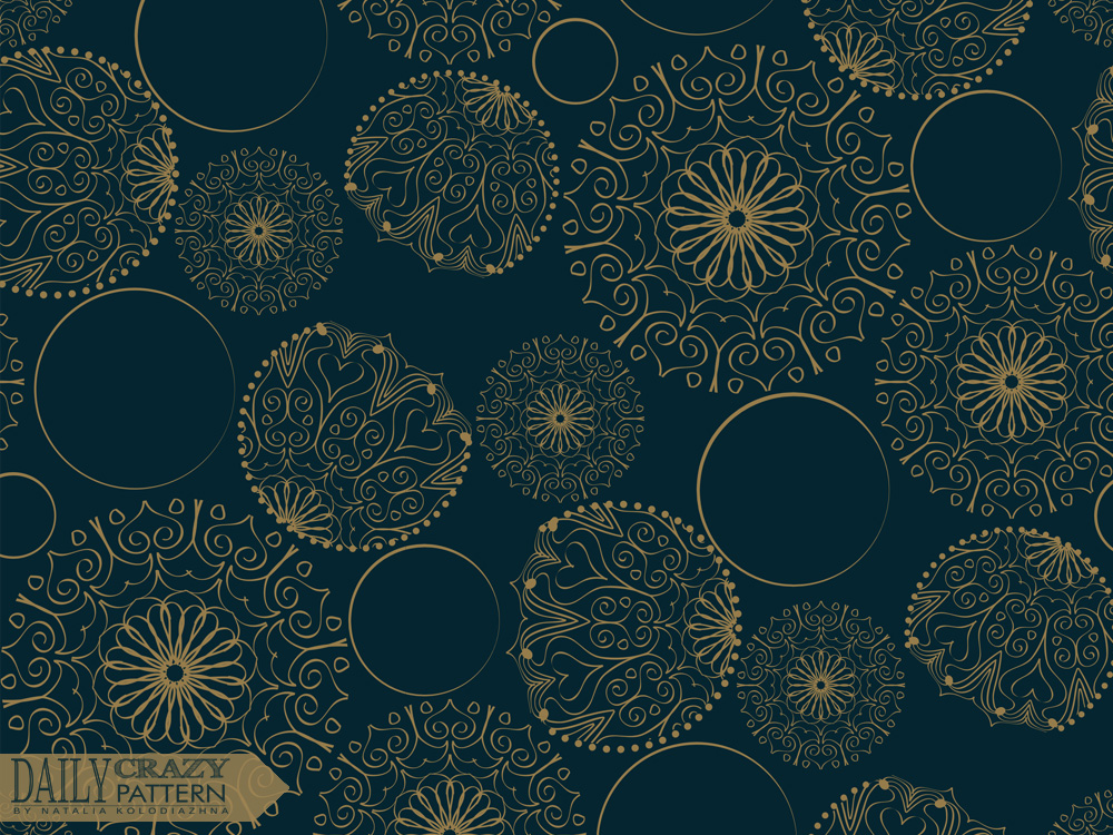 """Delicate pattern for """"Daily Crazy Pattern"""" project"""