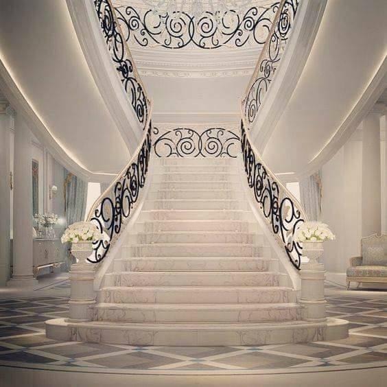 80 Modern Farmhouse Staircase Decor Ideas 64: 20 Modern Metallic Stair Railing Ideas, Which One Is