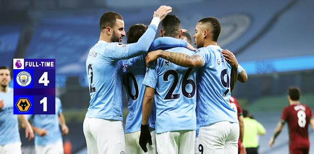 Manchester City vs Wolverhampton Highlights