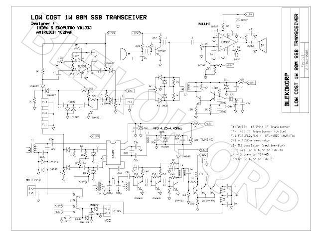 Transceiver 1W SSB 80m Lowcost_1W_80M_ssb_trx_schematic