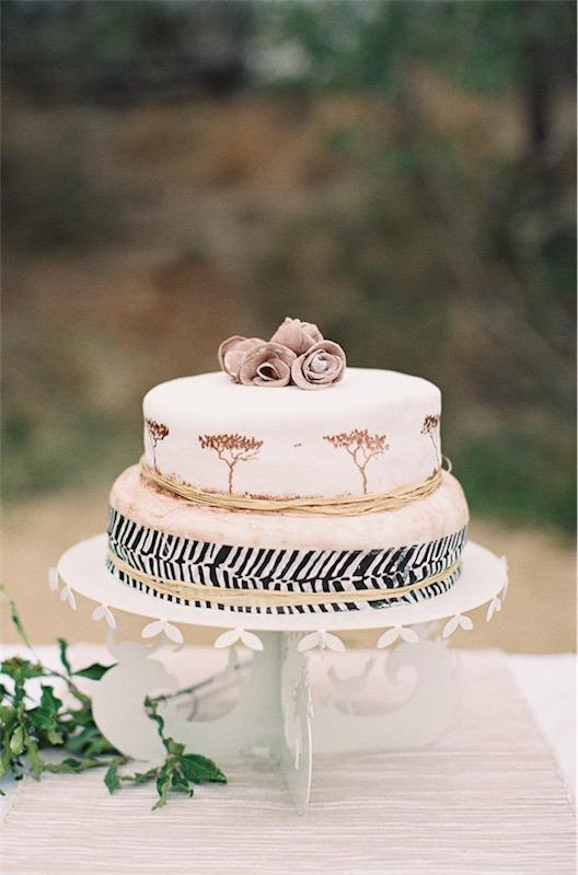 tarta nupcial inspiración africana chicanddeco