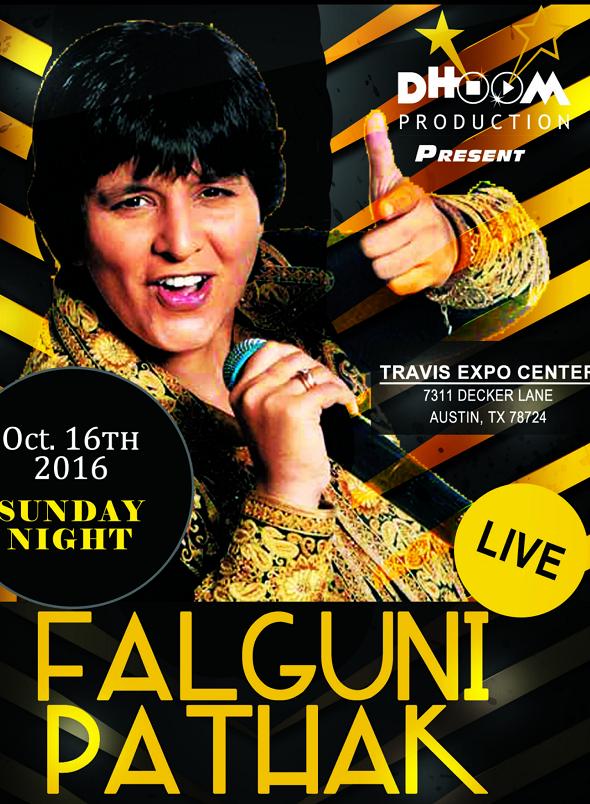 Falguni Pathak concert 2016