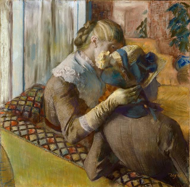 Эдгар Дега - У модистки (1881)