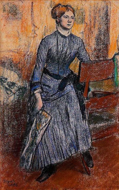 Эдгар Дега - Елена Руарт (1886)