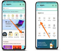How to recharge mobile via Amazon app?