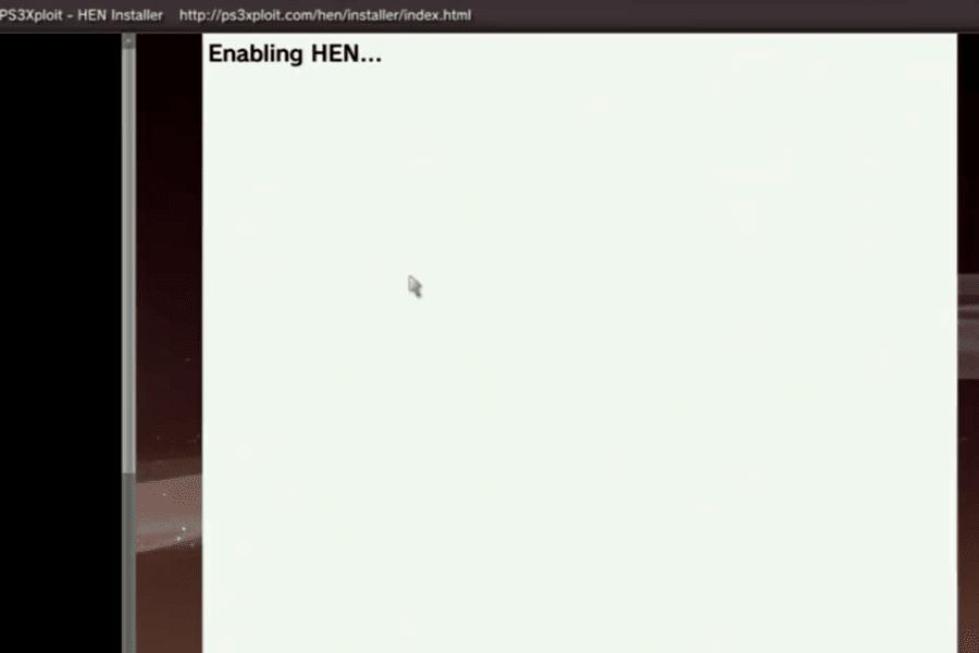 Update PS3 HEN V2.2.2 tanpa menggunakan flashdisk
