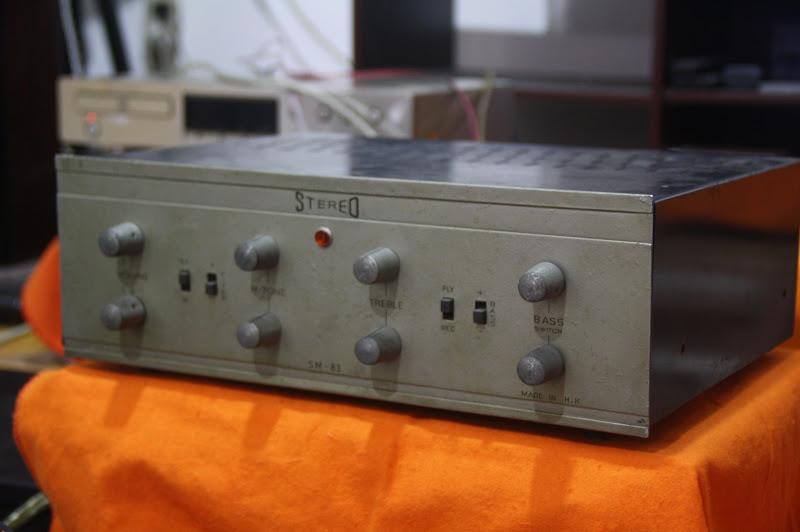 audio2nd amplifier tube sm 83 made in hongkong 110v. Black Bedroom Furniture Sets. Home Design Ideas