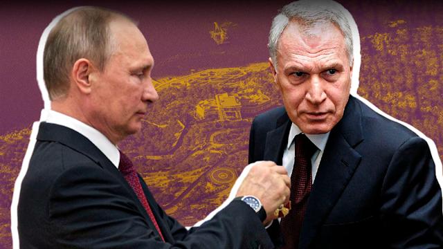 За что щедрый В. Путин наградил своего друга Ю. Ковальчука орденом «За заслуги перед Отечеством»
