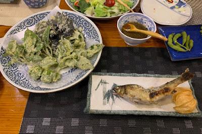 高峰温泉 夕食その2
