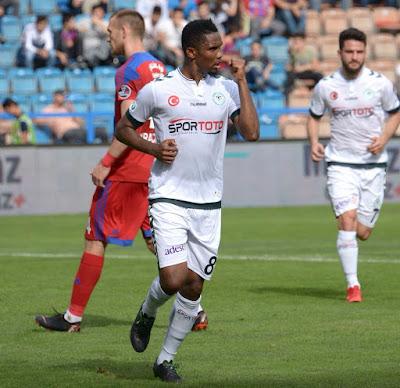 Turquie : Samuel Eto'o offre une précieuse victoire à Konyaspor