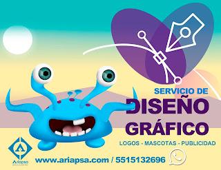 Diseño gráfico Ariapsa México