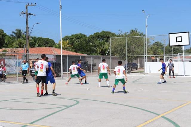 """Chapadinha-MA: Como parte das ações do Projeto  """"Prefeitura Presente"""", Secretaria de Esportes promove torneio de Futsal"""