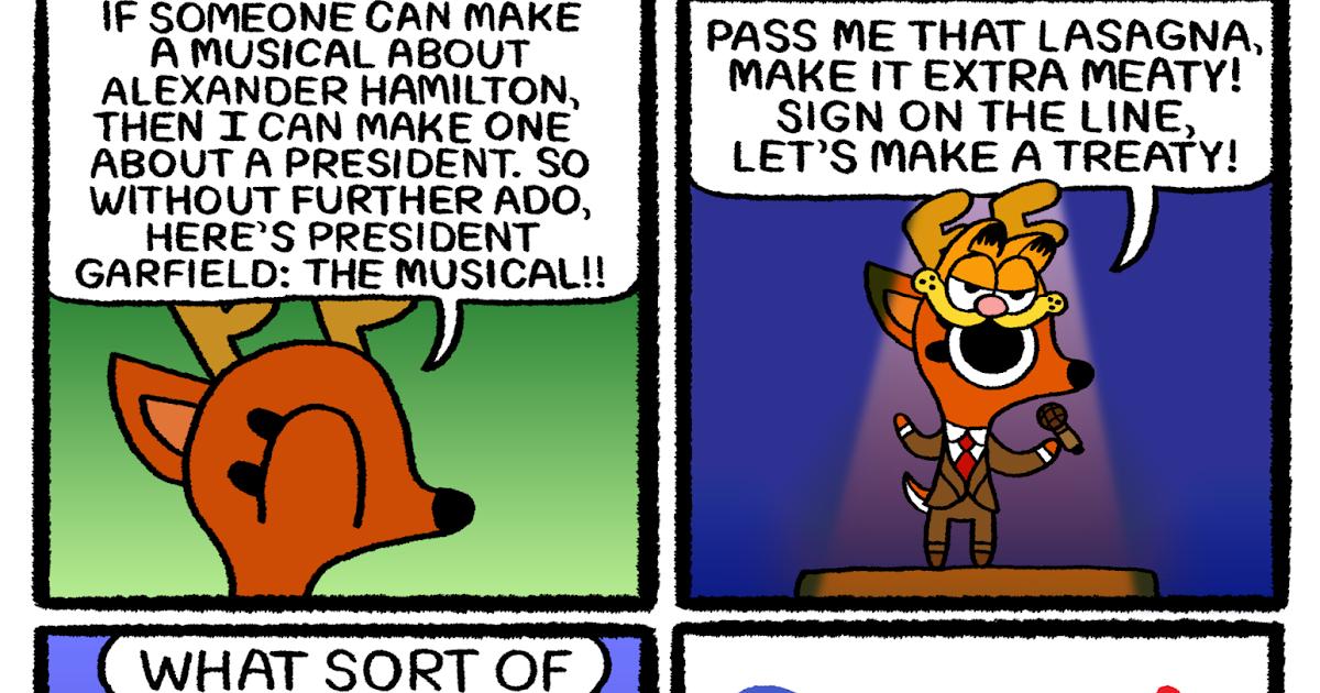 Rae The Doe President Garfield The Musical
