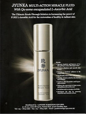 jyunka miracle fluid giveaway, japan