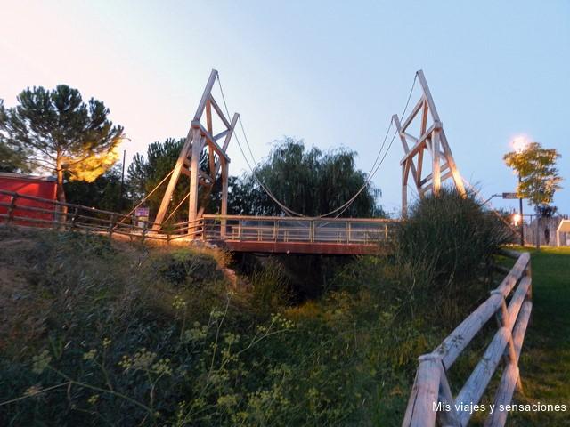 Puente de Van Gogh, Parque Europa, Torrejón de Ardoz (Madrid)
