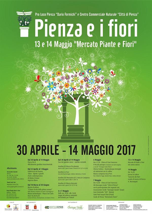 Fabio pellegrini notizie dalla val d 39 orcia pienza for Mostre mercato fiori 2017