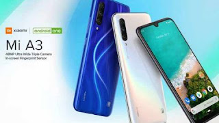 Xiaomi Mi A3 Smartphone launches on 21st August in India