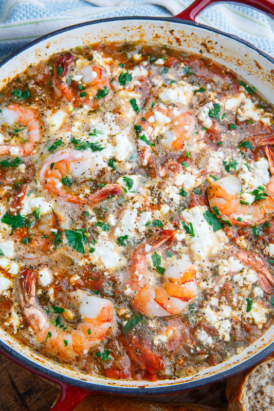 Shrimp and Feta Soup (aka Shrimp Saganaki Soup)