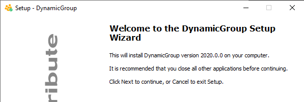 FirstAttribute: DynamicGroup: Primer contacto