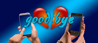 Good bye love image, hate love image