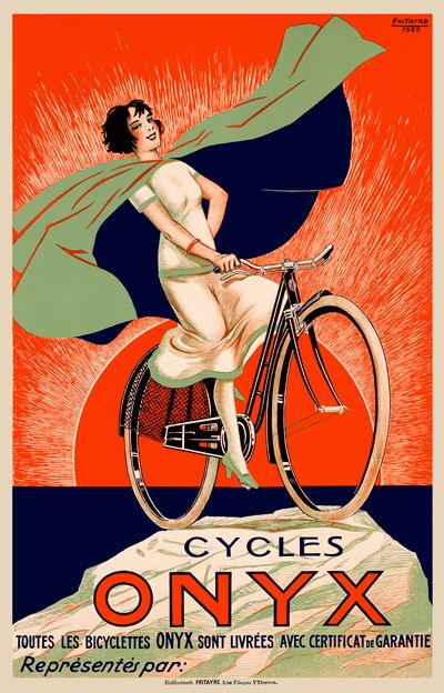 AlfonsoyAmigos - Carteles Vintage Bicicleta
