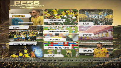 PES 6 ProEvo Colombia v2 Season 2016/2017 + Stadium Pack