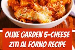Olive Garden 5-Cheese Ziti Al Forno #cheese #easymeals #ziti #dinner #easyrecipes #copycatrecipe