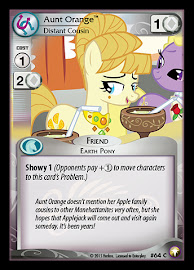 My Little Pony Aunt Orange, Distant Cousin Equestrian Odysseys CCG Card