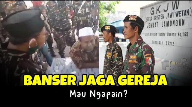 Banser Gerebek Kyai, Waketum MUI: Ke Non-Muslim Toleransi