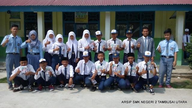 Sosialiasi PSB SMK N 2 Tambusai Utara di SMPN 13 Satap Tambusai Utara (2) 1