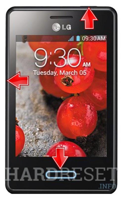 Hard Reset LG Optimus L3 II E430/E425