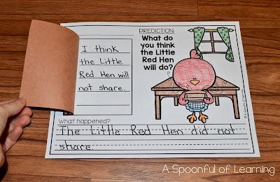 The Little Red Hen Unit 6
