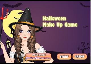 Game trang điểm Halloween hay nhất