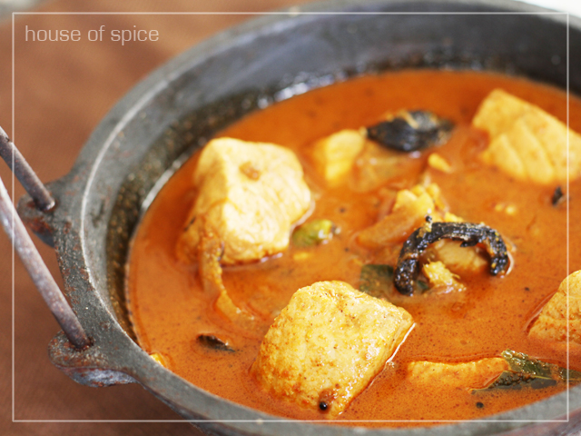 House Of Spice: Kerala Salmon fish Curry