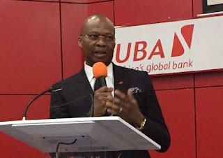 Kennedy Uzoka Of UBA Wins Best Bank CEO Of The Year Award