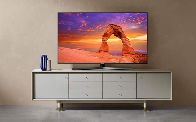 Samsung 4K UHD 2019 50RU7405: Smart TV 4K de 50'' con Apple TV y Alexa