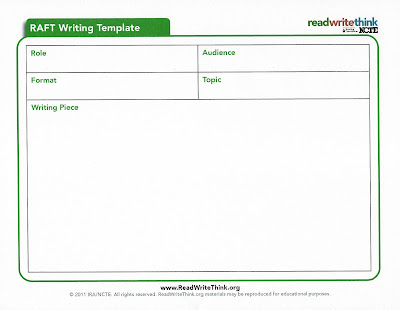 Raft writing examples