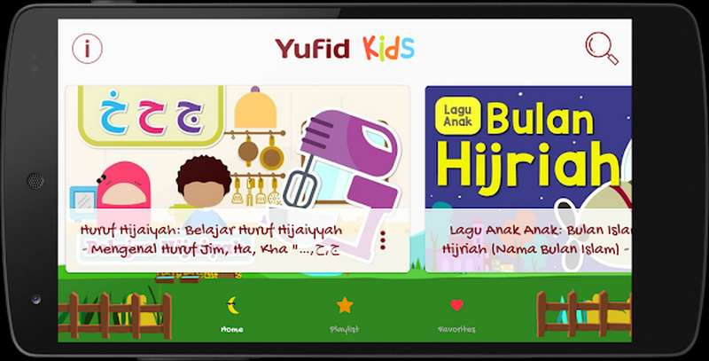 Aplikasi Yufid Kids
