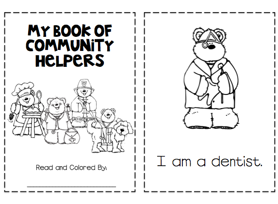 Coloring Pages For Community Helpers ~ Top Coloring Pages